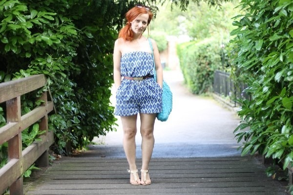 Outfit Vamastyle Strapless Playsuit (2)