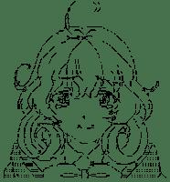 Tsukuyomi Sasami Watery eye (Sasami-san@Ganbaranai)