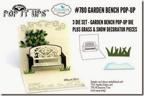 Garden Bench Pop Up