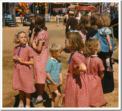 At the Vermont State Fair, Rutland (1941)