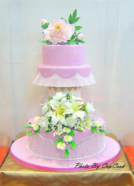 糖花蛋糕第一名