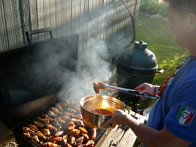 Pete at the Grill