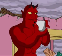 simpsons devil