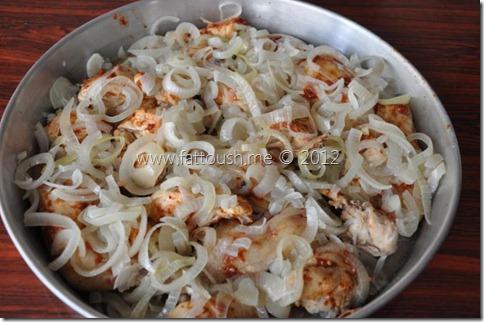 وصفة صينية الدجاج بالبصل من www.fattoush.me