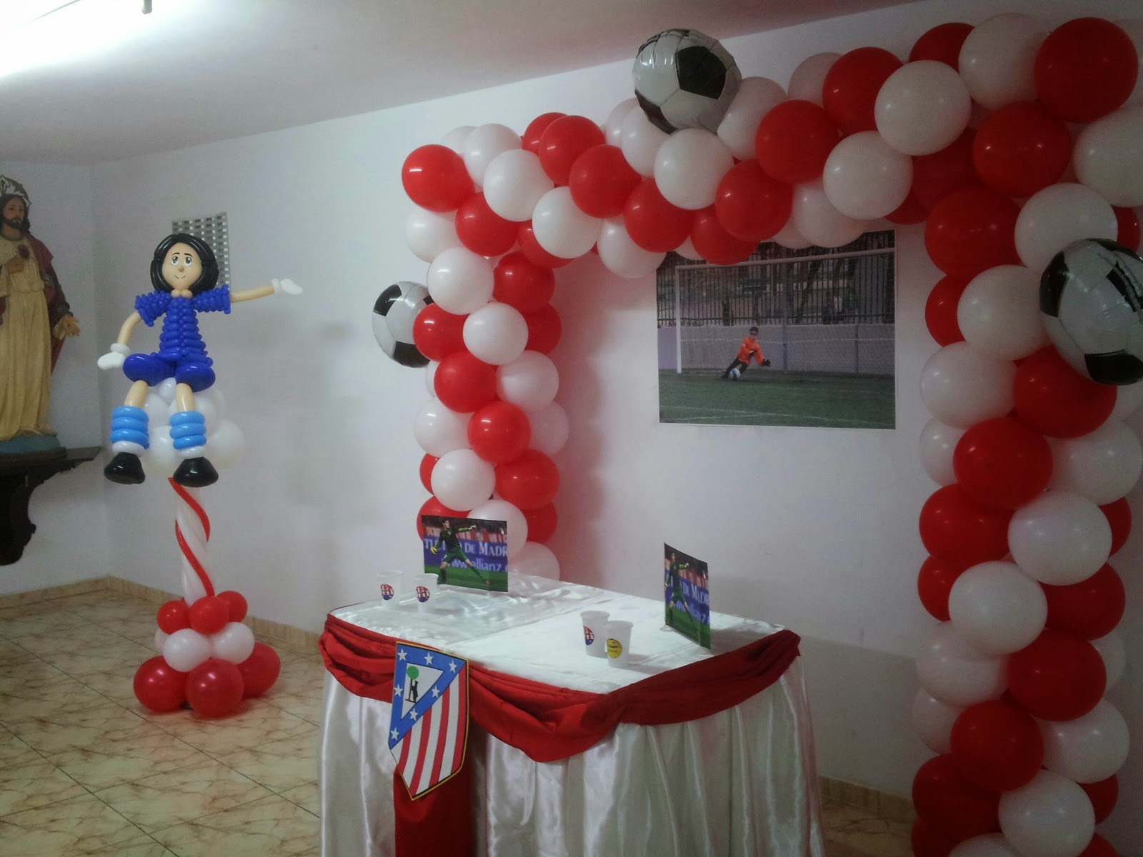 El rinc n de los globos decoraci n atl tico de madrid for Decoracion en madrid