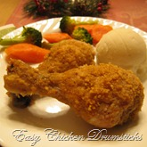 Easy-bake chicken