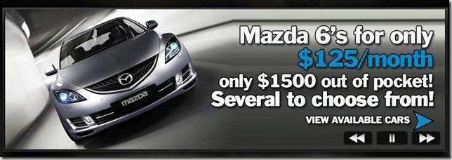 Mazda 6 Ad