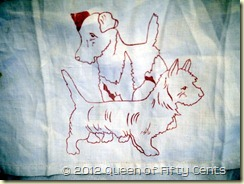 Dogs to embroider