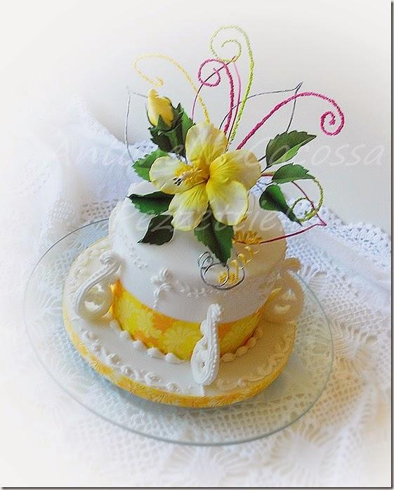 Torta Hibiscus