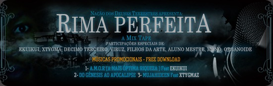 Banner Da Mixtape By San Caleia