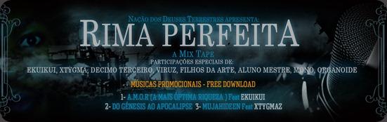 Banner Da Mixtape By San Caleia