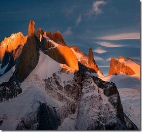 Cerro Polonês - Los glaciares Argentina Autor Freddy Duclerc