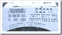 The Tomb of Maimonides in Tiberias