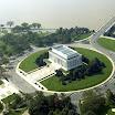 Lincoln Memorial Overhead