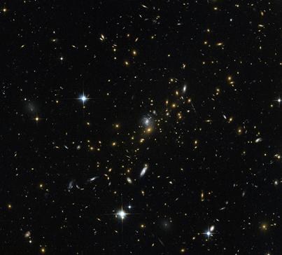 aglomerado de galáxias MACS J0454.1-0300