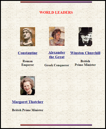 Garden of Praise – Biographies for Kids – This website includes biographies of tons of important individuals from history written specifically for kids.  Many of the biographies include links to additional reference material on the person, definitions of key vocabulary from the biography and video clips about the person in the biography.