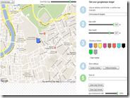 Ottenere la foto di una mappa Google Maps personalizzando le caratteristiche: Map2Pic