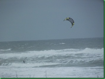 Thursday Kite surfer at Gamble Rogers 004