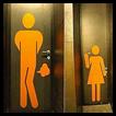 Placas de banheiros engraçadas
