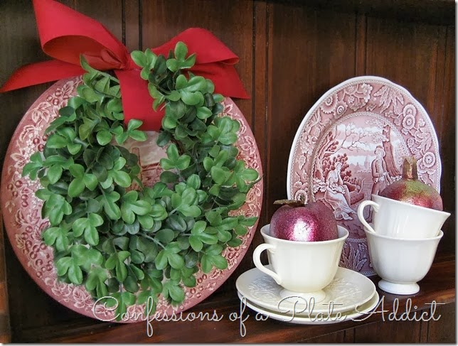 CONFESSIONS OF A PLATE ADDICT Farmhouse Christmas on the Hutch