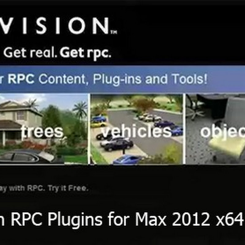 Archvision RPC Plugins for 3dsMax 2012 x64 & Models
