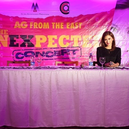 Alex Gonzaga - AG From The East The Unexpected Concert