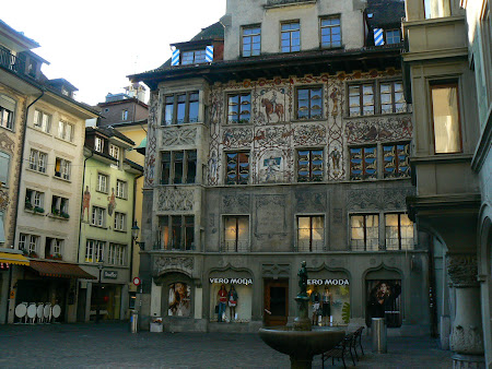 Things to do in Lucerne: Walk the medieval town