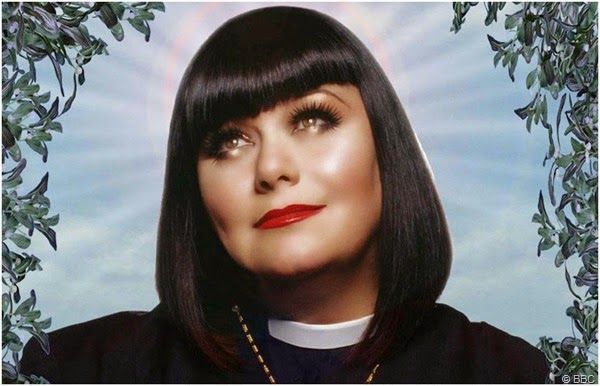 "Dawn French stars in ""THE VICAR OF DIBLEY"""