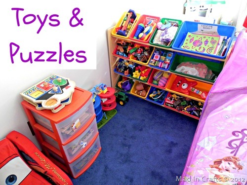 toy room toys and puzzles