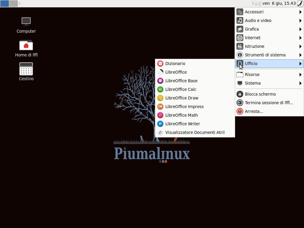 Piumalinux JYNX