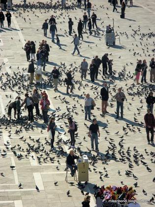 San Marco crowds