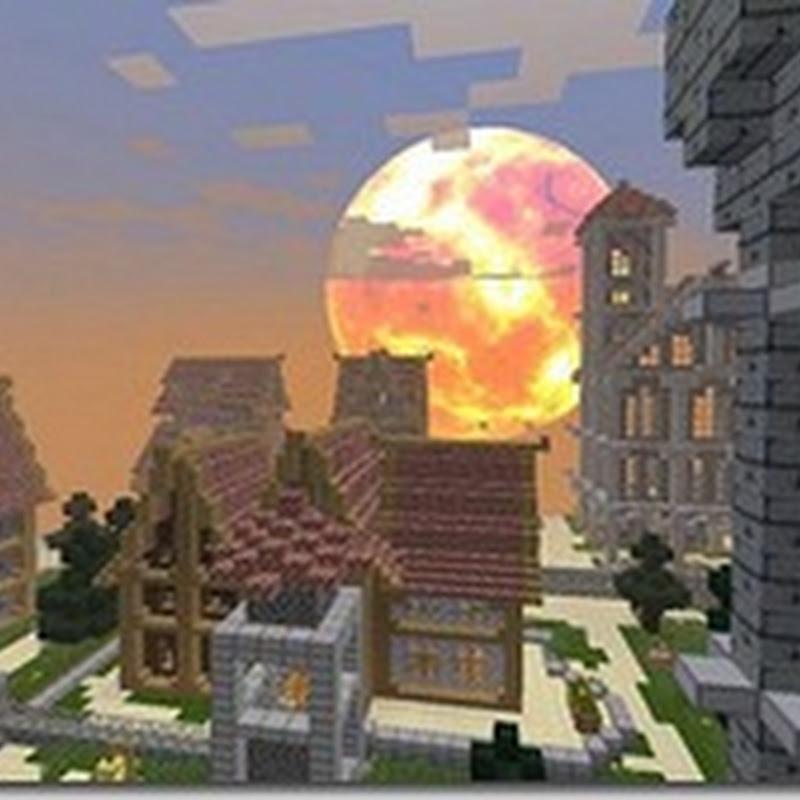 Minecraft 1.2.4 - Ombra Fiamma Texture Pack Mod (RPG Lite)