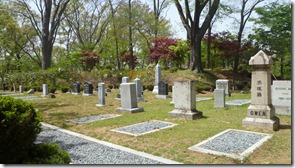 Missionary graveyard