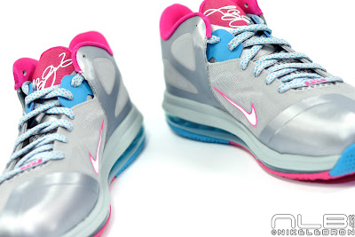 lebron9 low fireberry 14 web white The Showcase: Nike LeBron 9 Low WBF London Fireberry
