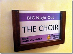 Big Night Out Community Choir 2 Nov 12