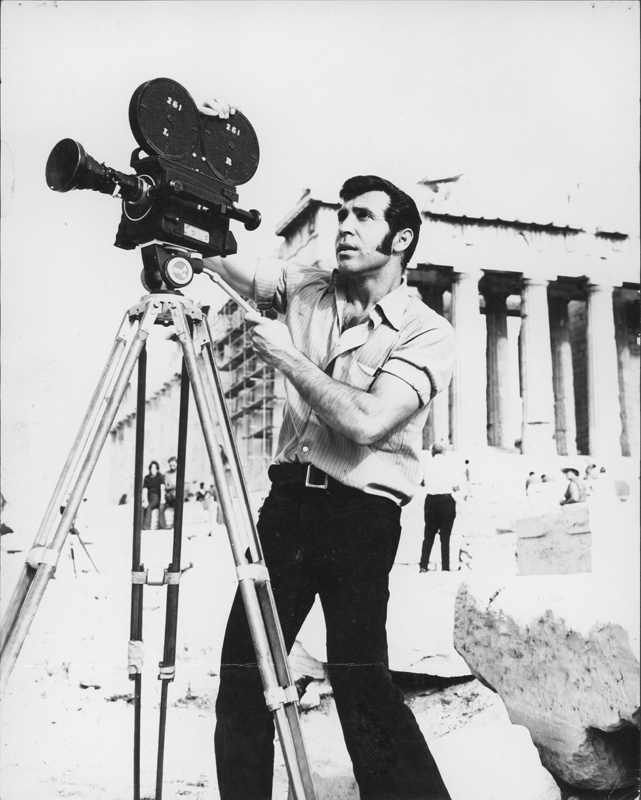"Pat Rocco filmed ""ONE Adventure"" about the ONE Travel Club tour of Europe. 1972."