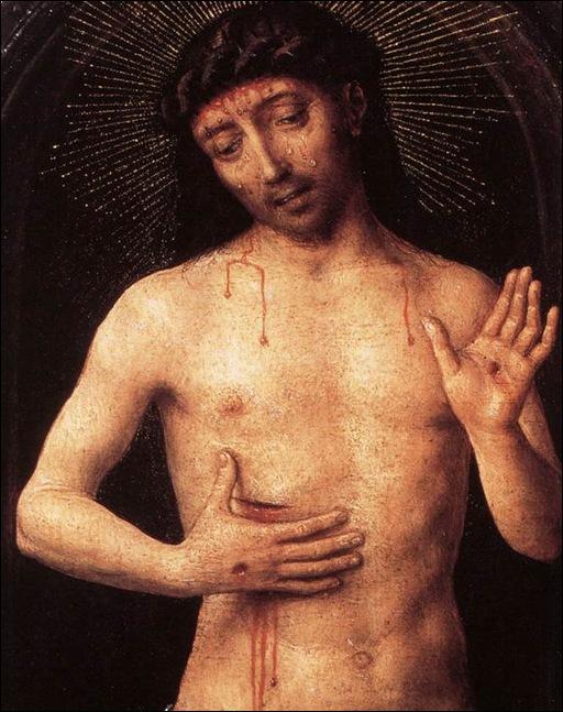 Memling, Christ de douleur