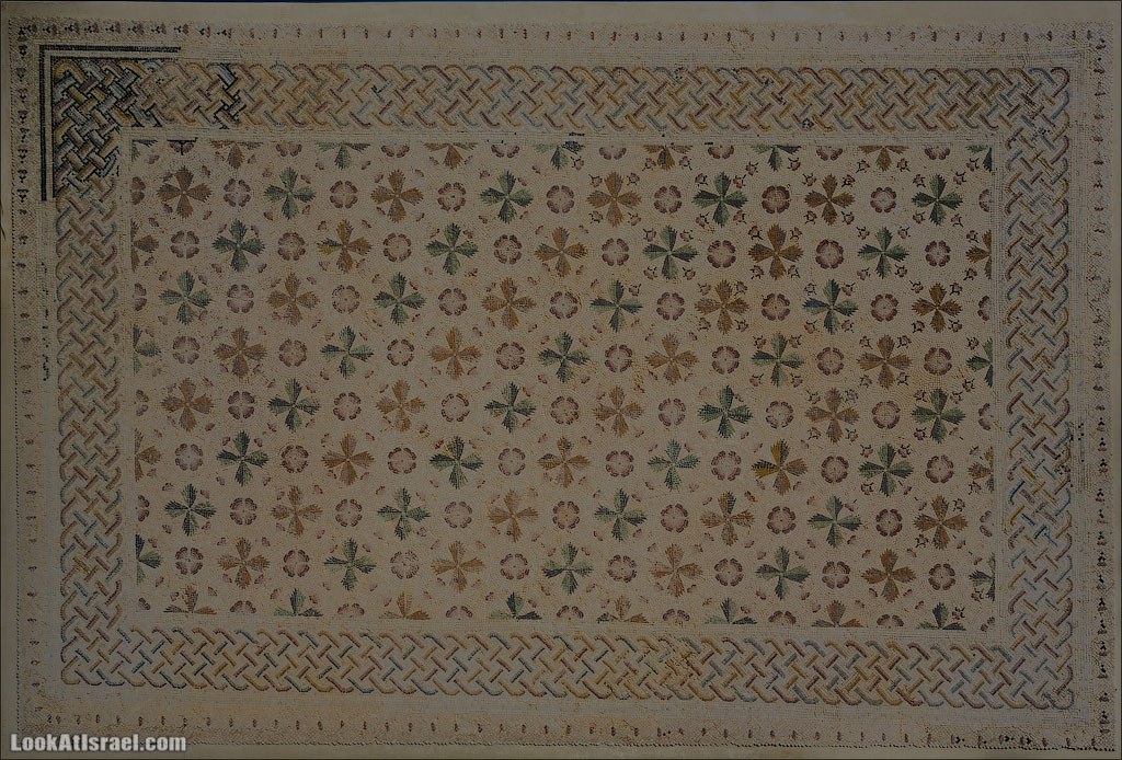 Мозаики от «Доброго самаритянина» (israel  путешествия иудея и самария и интересно и полезно выставки музеи фестивали  20130215 good samaritan mosaic 014 5D3 8368)
