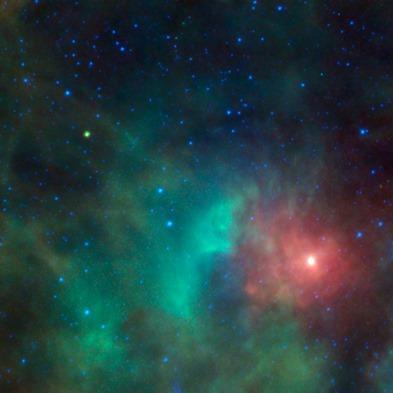 asteroide na Nebulosa de Órion