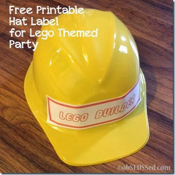 Lego Duplo HP obSEUSSed builder hat