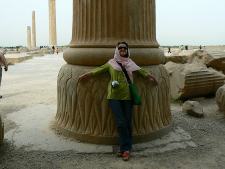 Things to see in Persepolis: One of the 100 columns