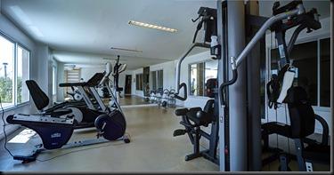Foto do espaço fitness