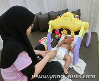 Baby SPA Wangsa Walk - Swim & Massage