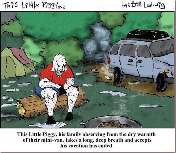 Piggy Wet Camping