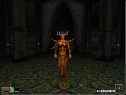 Y si eres del Templo del Tribunal, enrollarte con ella cuenta a la vez como acto místico supremo y como blasfemia de las gordas.