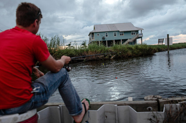 An elevated house for sale south of New Orleans in Plaquemines Parish, La. Buyers of properties in flood-prone areas could face steep increases in flood insurance premiums. Photo: William Widmer / The New York Times