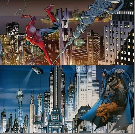 Marvel&DC-NewYorkGotham