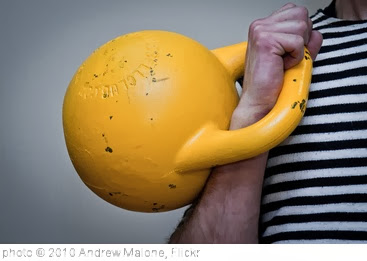 'Kettlebell' photo (c) 2010, Andrew Malone - license: http://creativecommons.org/licenses/by/2.0/