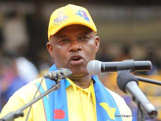Evariste Boshab, secrétaire général du PPRD. Radio Okapi/ Ph. John Bonmpengo