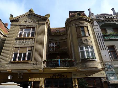 Cladiri art nouveau in centrul Oradei